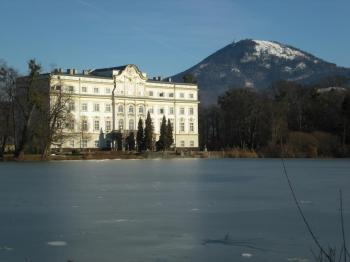 "Schloss Leopoldskron - we saw this as part of the ""In Mozart's Footstep's"" tour, but it also features in The Sound of Music film"