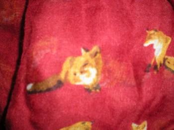 Primark fox scarf