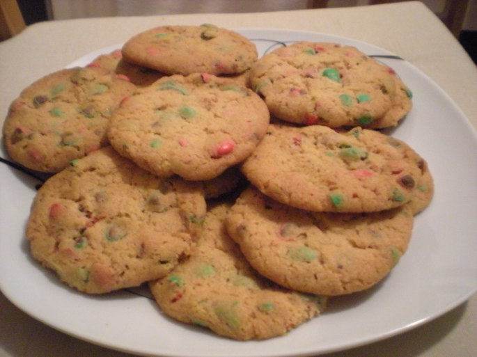The cookies I made last Christmas...