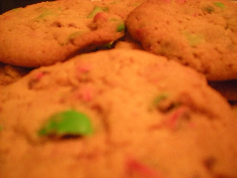 Cookies close up