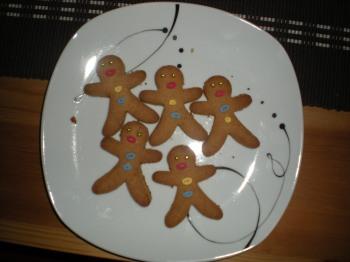 Gingerbread men, baked in 2011