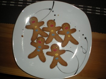 Gingerbread men, baked in 2011