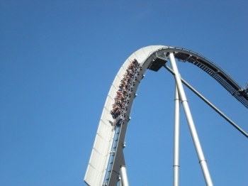 Rollercoaster at Europapark