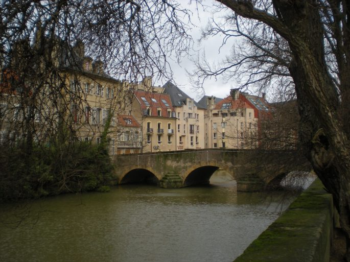 St Marcel bridge, Metz