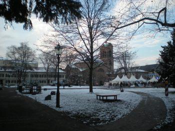 Snowy Karlsruhe