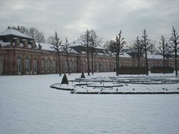 In Schwetzuingen castle gardens