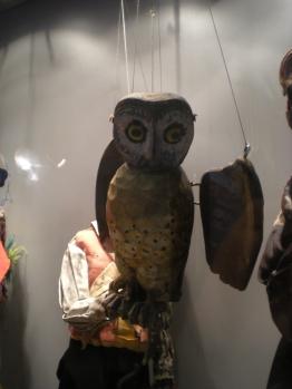 Owl puppet!