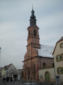 Evangelical church, Schwetzingen