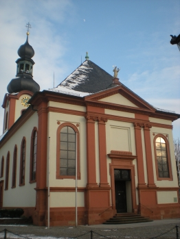 Catholic church, Schwetzingen