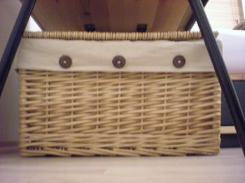 Basket for books