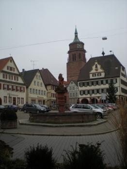Weil der Stadt Marktplatz