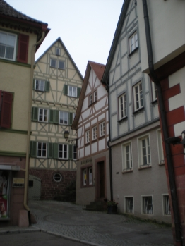 Kepler birth house and other pretty buildings