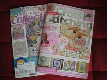 Cross stitch magazines