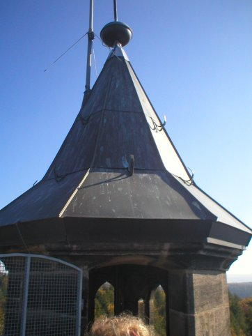 The top of the tower