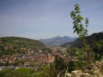 Feldkirch, Austria, where I lived for 10 months