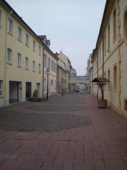A street in Rastatt, Germany