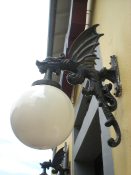 Dragon lamp