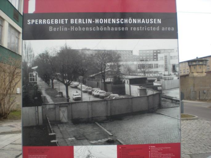 Hohenschönhausen sign