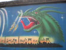 Dragon Eastside Gallery