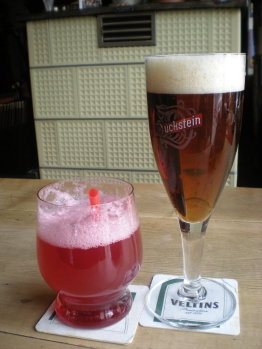 Berliner Weisse and Duckstein