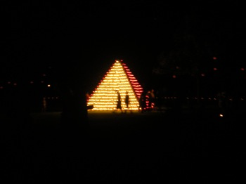 Pyramid lights