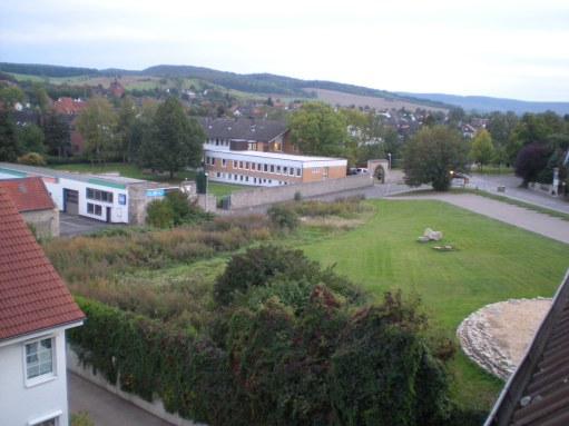 Part of the university campus