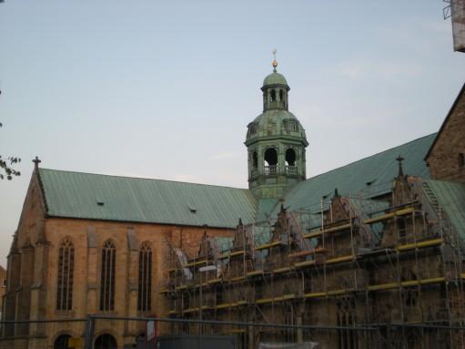 All in scaffolding...