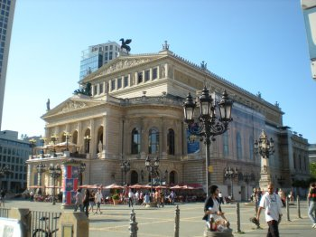 Alte Oper - a former opera house, now a major concert hall.