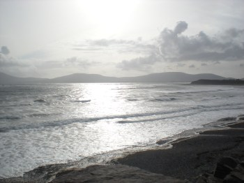 The beach at Waterville