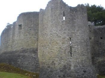 The outside of Adare Castle