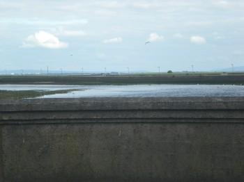 Where the River Corrib meets the sea