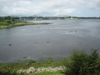 Galway Bay, viewed from beside the castle
