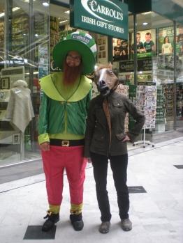 Charlie meets a leprechaun!