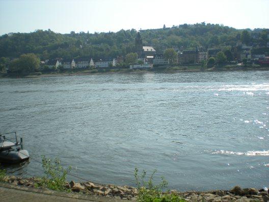 The Rhine in Koblenz