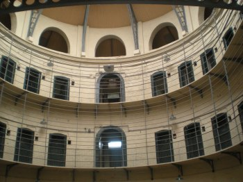 "The ""New"" east wing of KIlmainham Gaol"