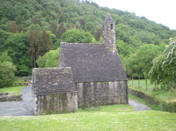 Saint Kevin's Church at Glendalough