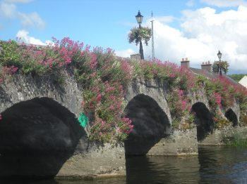 Google tells me this is a valerian stone bridge, and Wikipedia adds that it's from the 14th century and thought to be one of the oldest functioning bridges in Europe