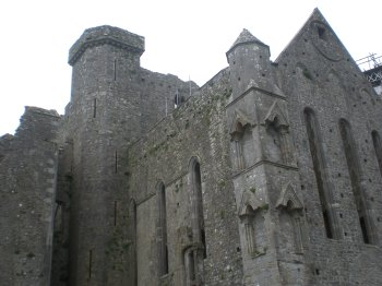 Part of the Rock of Cashel
