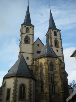 Bad Wimpfen Stadtkirche - the Lutherian Parish Church