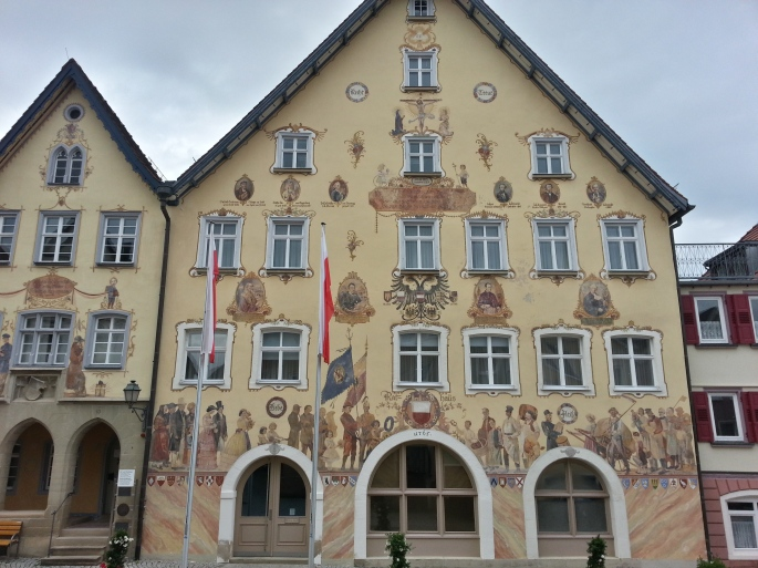 Horb Town Hall - photo by Jan