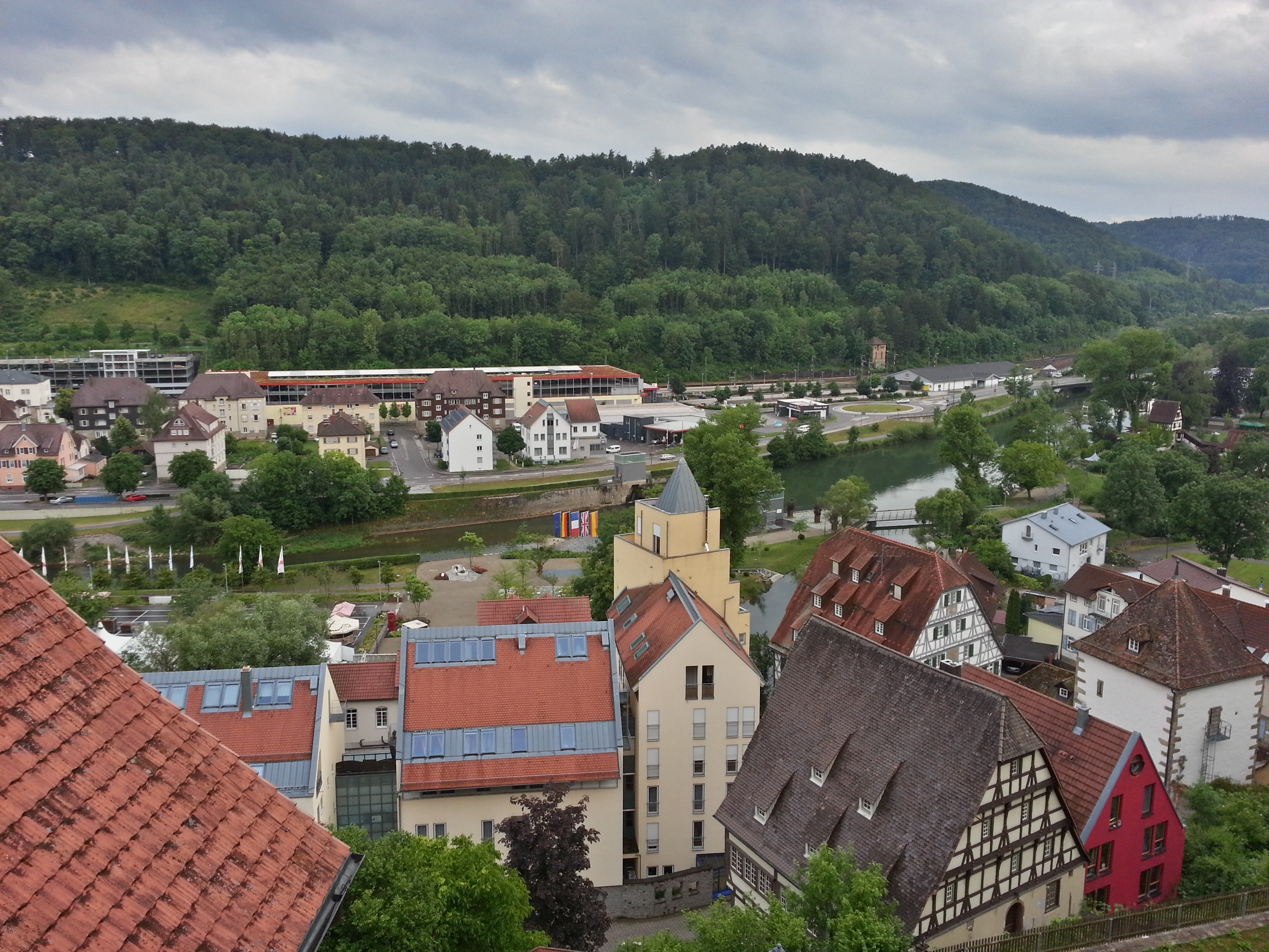 Single horb am neckar