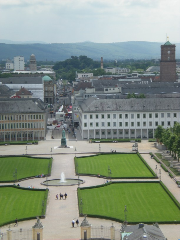 Karlsruhe from above