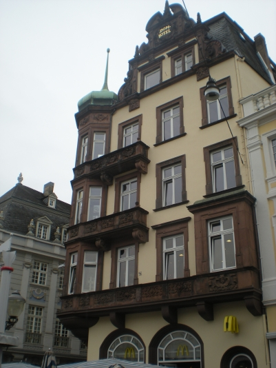 Former Hotel Dom... now a McDonalds