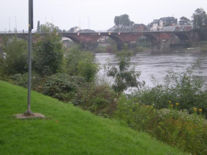 The River Mosel and the Römerbrücke (Roman Bridge)