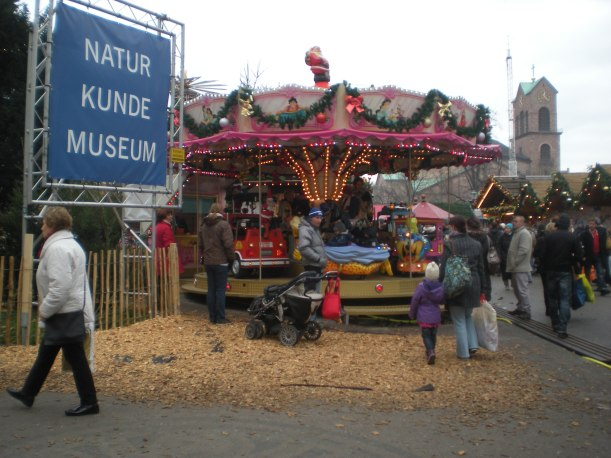 There's always a children's carousel at German fairs...