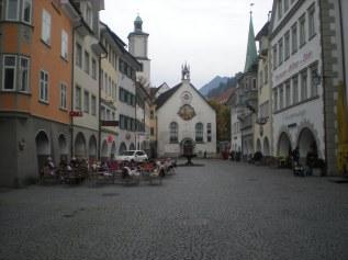 Marktgasse in Feldkirch, Austria