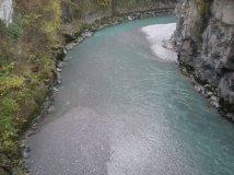 The River Ill in Feldkirch