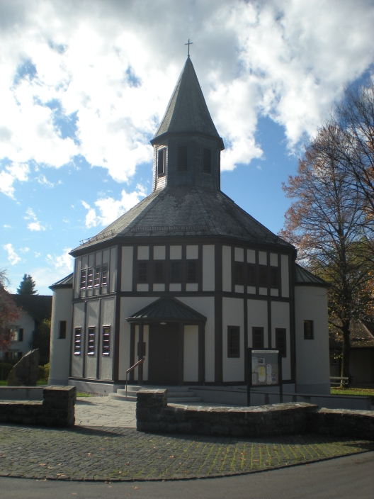A little church in Dornbirn