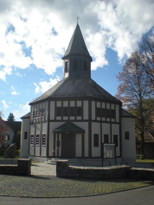 A little church in Dornbirn