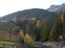 Autumn colours near St Anton am Arlberg